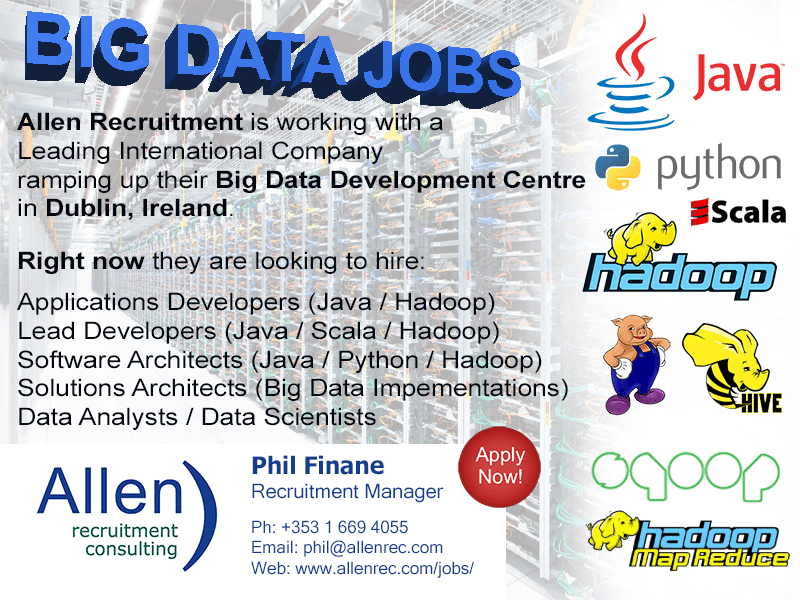 Big Data Jobs - Dublin - Allen Recruitment - Apply Now